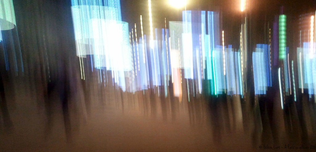 Just for fun: Abstract Champs Elysees by parisouailleurs