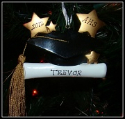 24th Dec 2011 - I Am Thankful For.......Trevor's Last Ornament!! (Maybe!!) :)