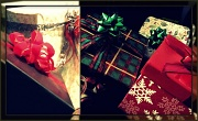 """25th Dec 2011 - things that say """"merry Christmas"""" - presents!!"""