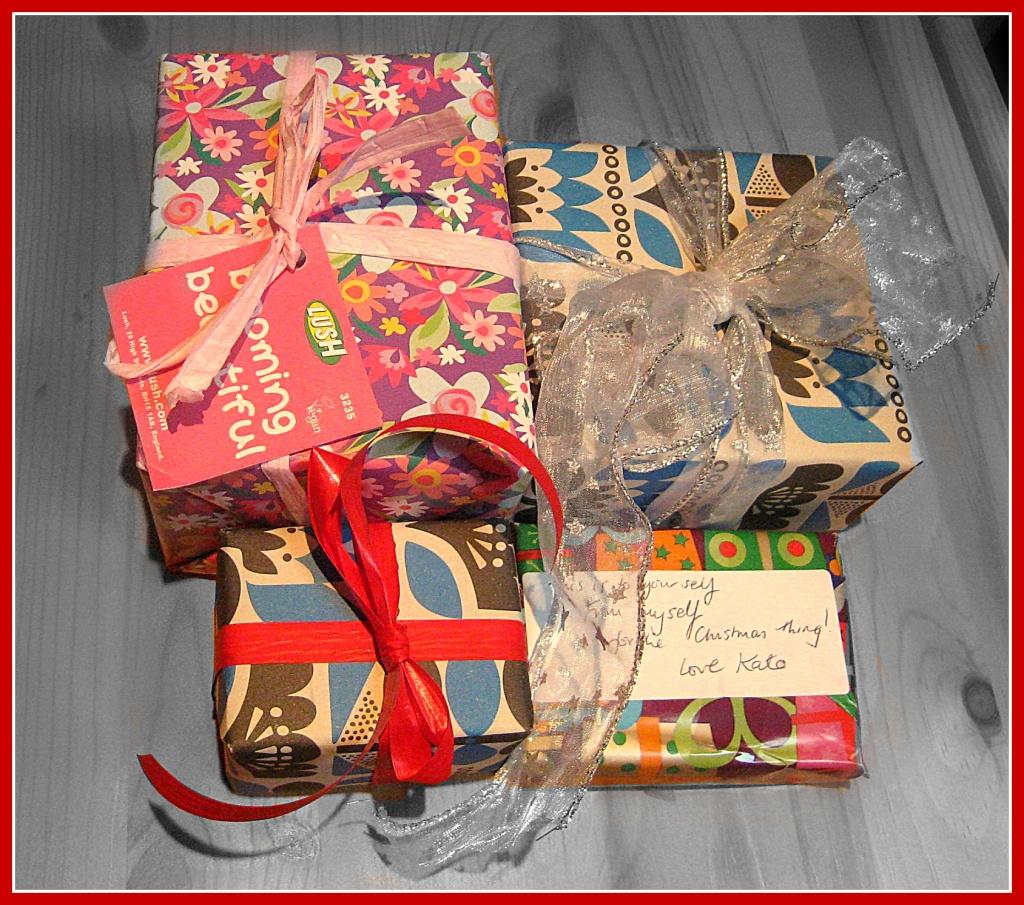 Christmas presents by sarahhorsfall