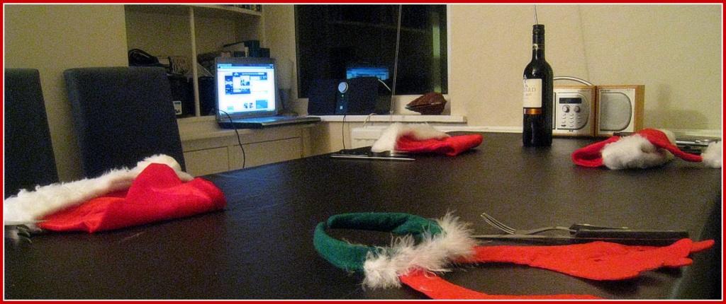 Christmas table by sarahhorsfall