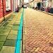 The thin blue line by halkia