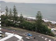 """17th May 2010 - View from 11th Floor of  the """"Mantra Holiday Apartments"""" - Mooloolaba -Qld"""