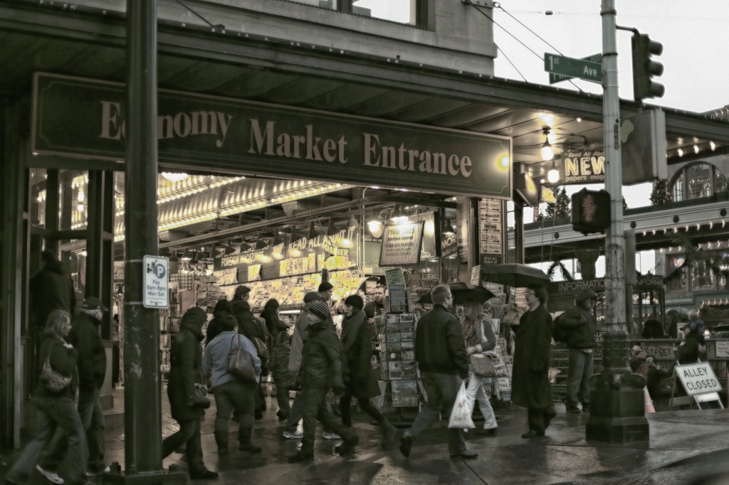 Market News Stand  by seattle