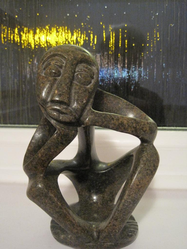 'the thinker' by quietpurplehaze