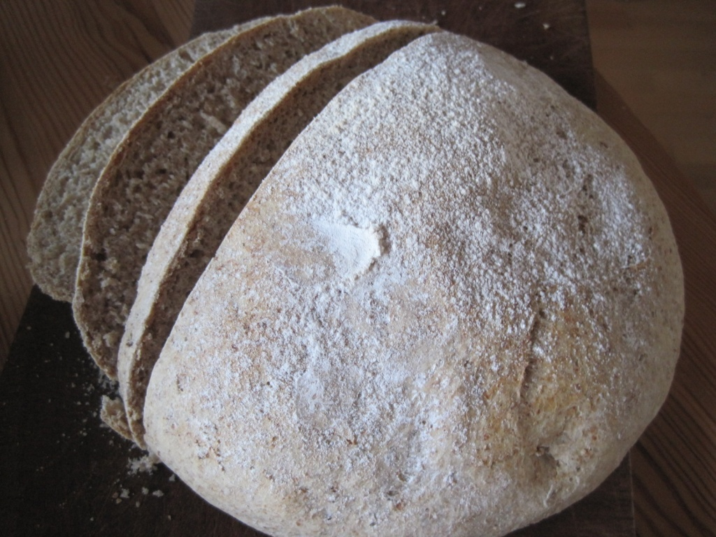wholemeal loaf by quietpurplehaze