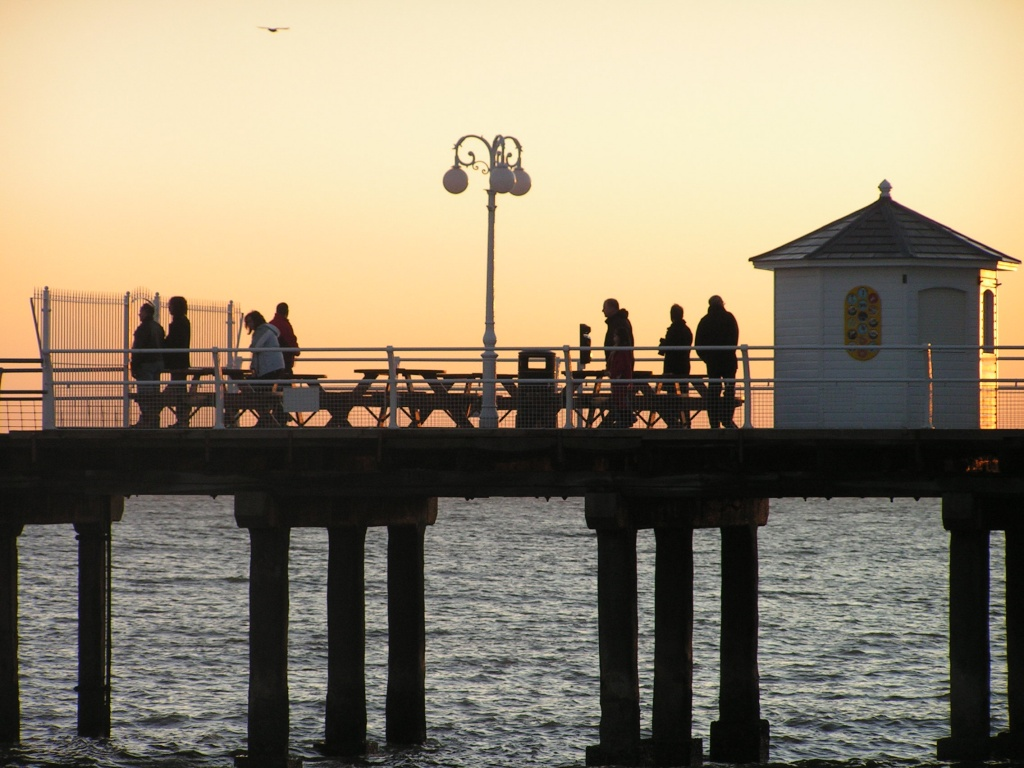 End of the pier. by judithdeacon