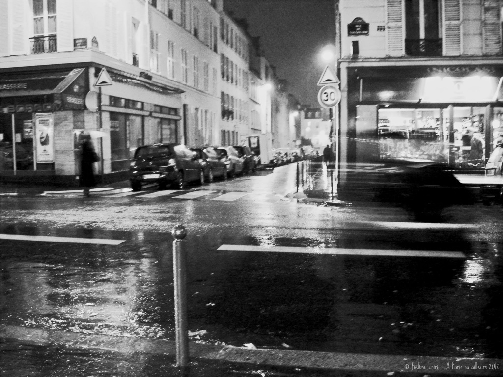 Rainy night by parisouailleurs