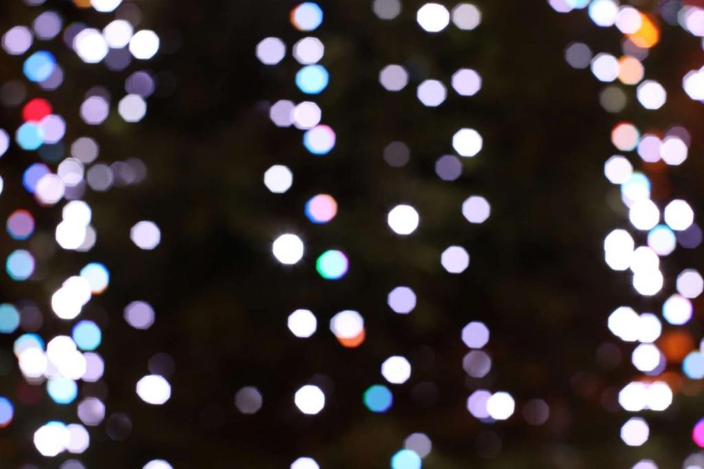 Christmas Tree Bokeh by netkonnexion
