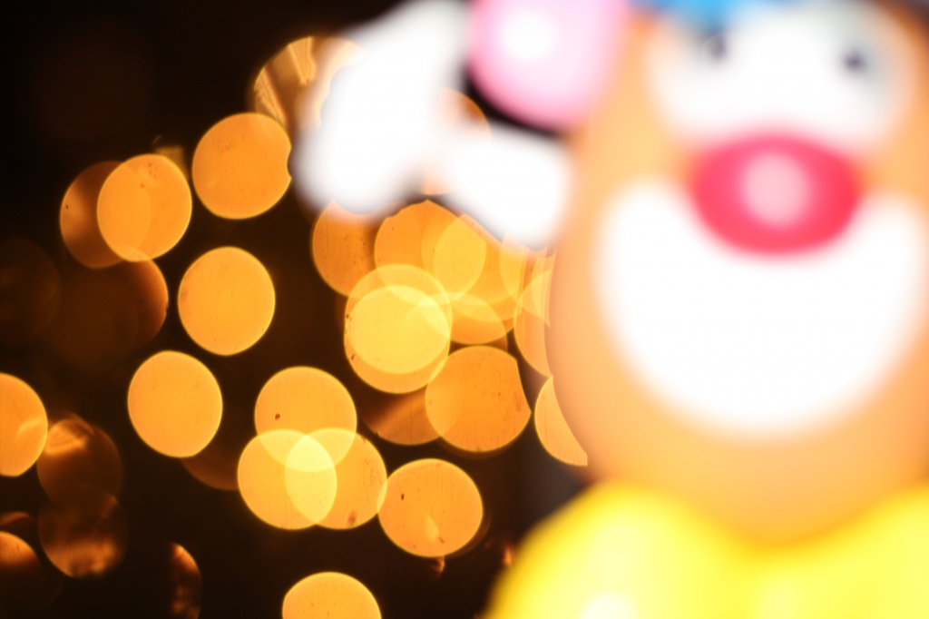 Bokeh-bombed! by egad