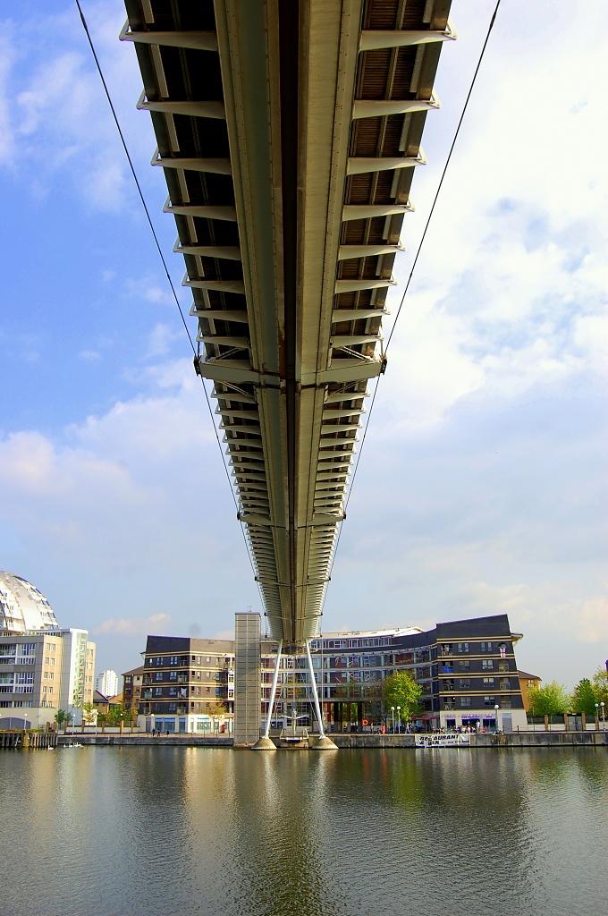 Excel Footbridge by andycoleborn