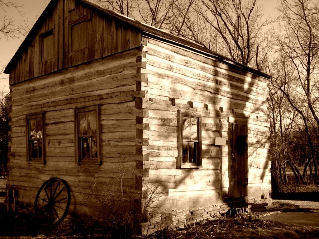 log cabin by myhrhelper