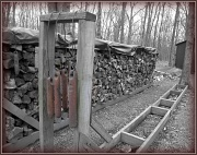 8th Jan 2012 - Waning Woodpile