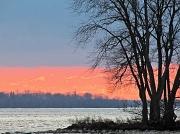 10th Jan 2012 - Sunset on the lake.