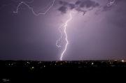 12th Jan 2012 - Lightning over the city