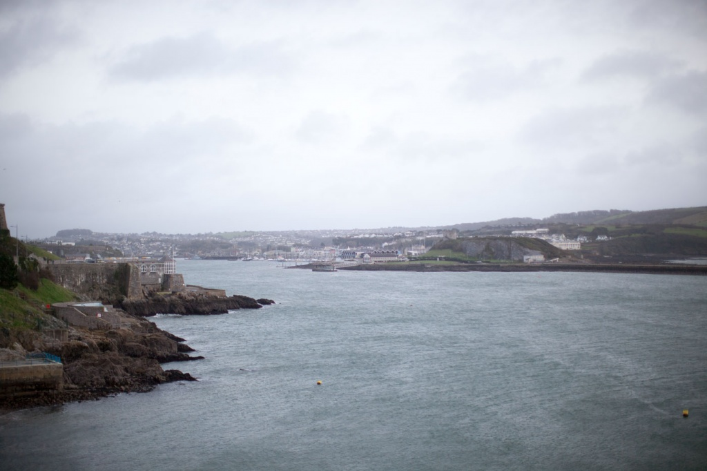 Looking Back To Plymouth Harbour From The Hoe by netkonnexion