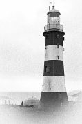9th Jan 2012 - The Lighthouse on Plymouth Hoe Back In The Day