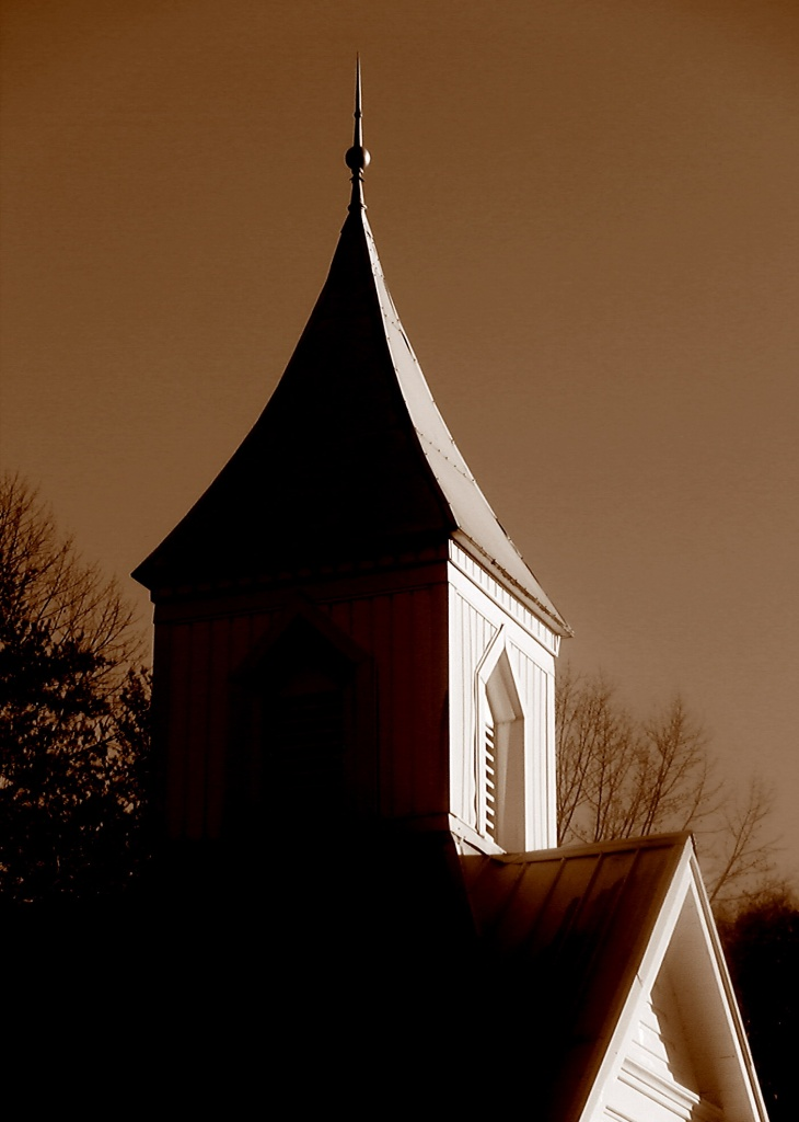 Country Steeple by calm