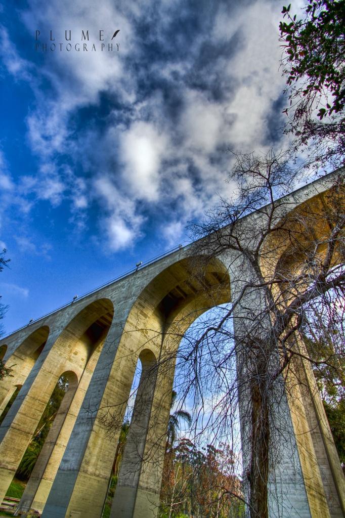 Under the bridge by orangecrush