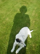 26th May 2010 - Me and my shadow.