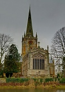 18th Jan 2012 - Holy Trinity Church, Stratford upon Avon - Shakespeare's resting place