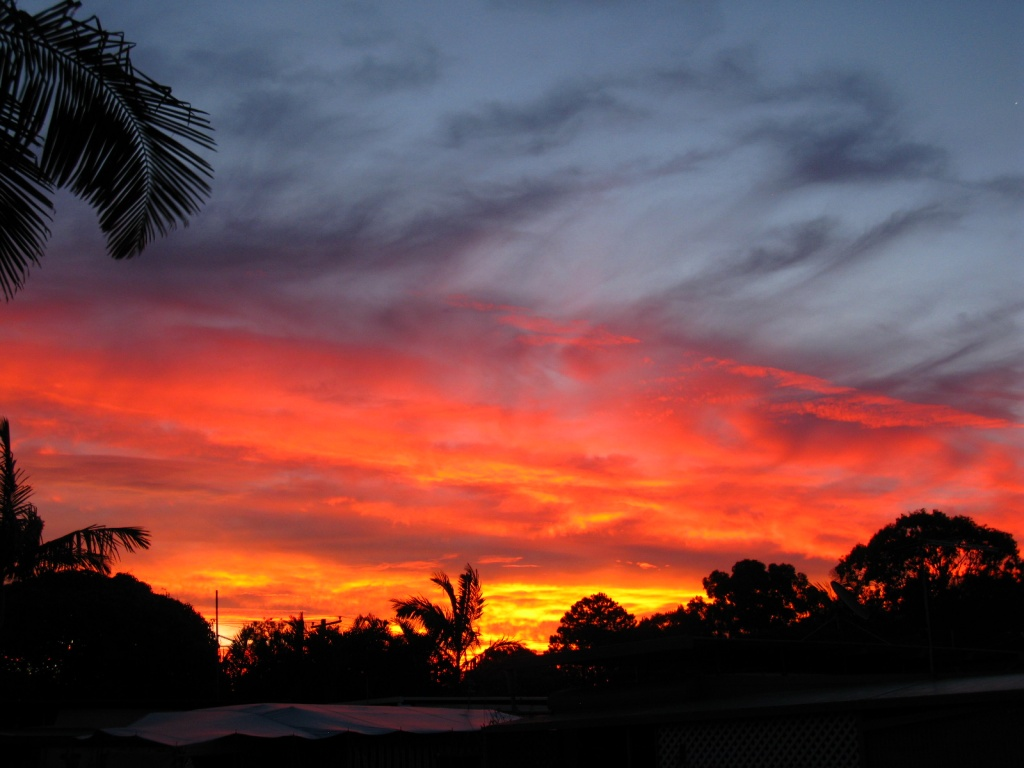 Sunset over Brunswick Heads by loey5150