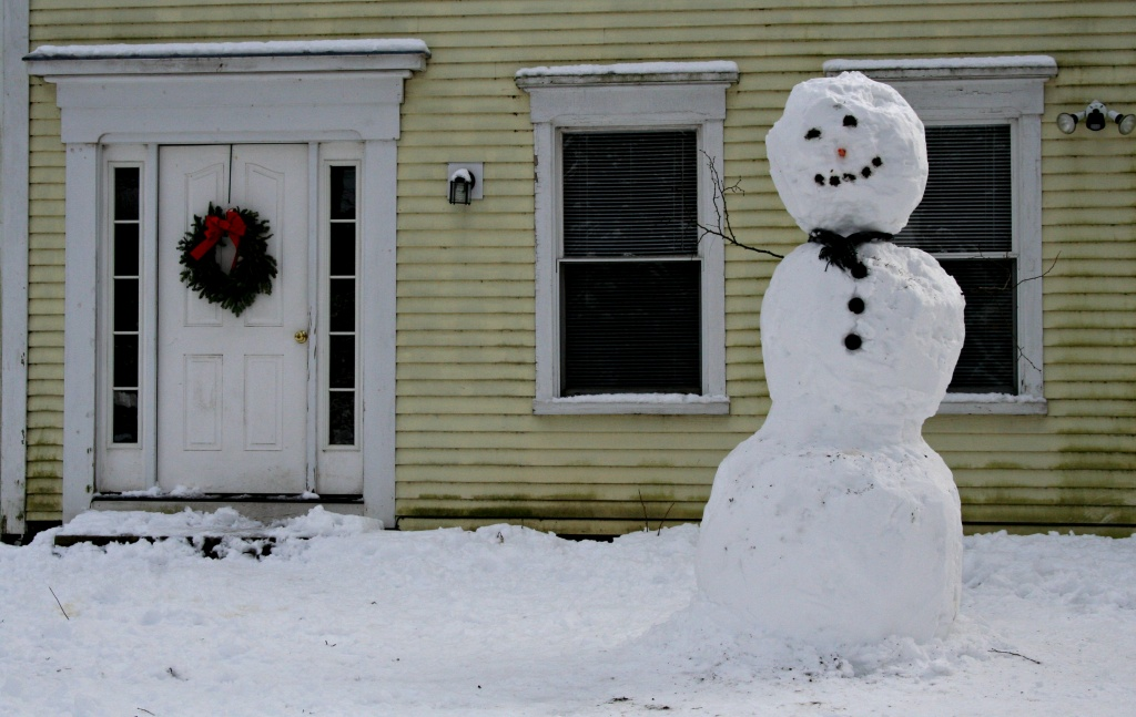 Now This is a Snowman! by lauriehiggins