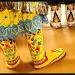 beaded dancing feet by aikimomm