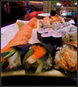 25th Jan 2012 - sushi, anyone?