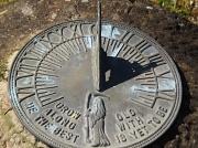 28th May 2010 - Sun dial at 4-30 pm.
