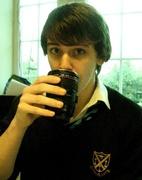 31st Jan 2012 - Birthday Boy with Canon Mug