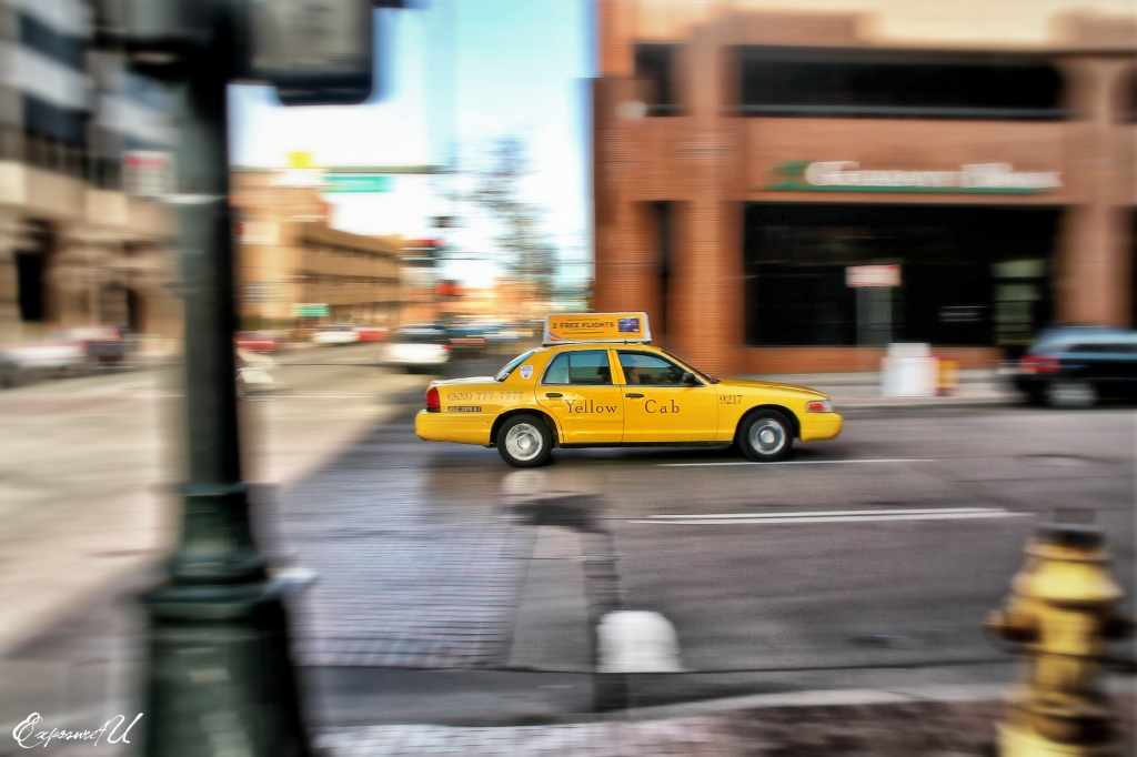 The Yellow Cab by exposure4u