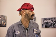 "2nd Feb 2012 - The Man With Many Faces aka ""Gandhi Jones"" Attended My Gallery Show Tonight."