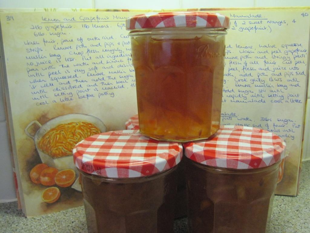 Home-made Seville orange marmalade by quietpurplehaze