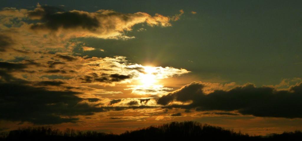 Superbowl Sunday Sunset by calm