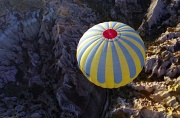 6th Feb 2012 - Film February - from one balloon to another - hot air ballooning over Cappadocia