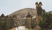 8th Feb 2012 - Film Feb - Fairy Chimneys - open air museum Goreme Cappadocia - Chook Valley