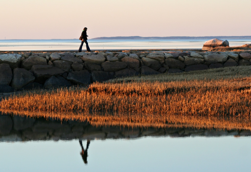 Rock Harbor Reflections by lauriehiggins