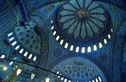 11th Feb 2012 - Film February - Inside Sultan Ahmet Mosque - The Blue Mosque