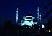 13th Feb 2012 - Film Feb - Sultan Ahmet Mosque Istanbul - next time take the tripod and shutter release
