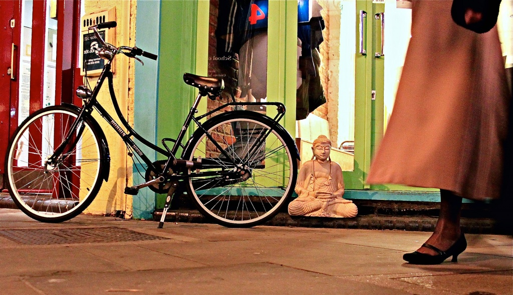 Buddha & a Bicycle by rich57
