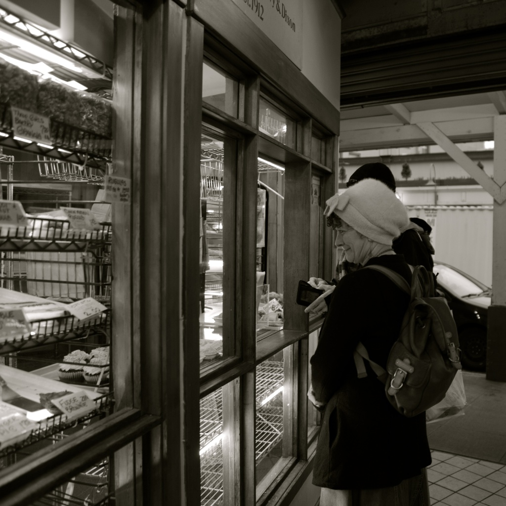 Buying Bread Before Bussing Home! by seattle