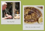 22nd Feb 2012 - Pancake day - one day late!
