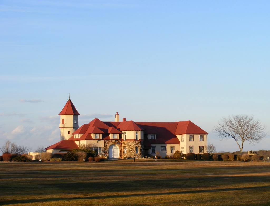 Mansion at Ocean Edge by lauriehiggins