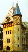 23rd Feb 2012 - Film February - Lake Palic Serbia - Rapunzel's tower?