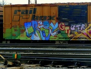 24th Feb 2012 - Rail Box Graffiti