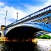 The bridge on the River Trent by vikdaddy