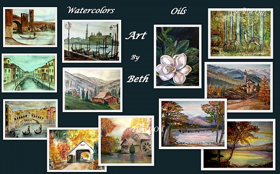 Art Work Collage by vernabeth