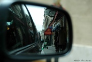 2nd Mar 2012 - Street view from the car's rearview mirror