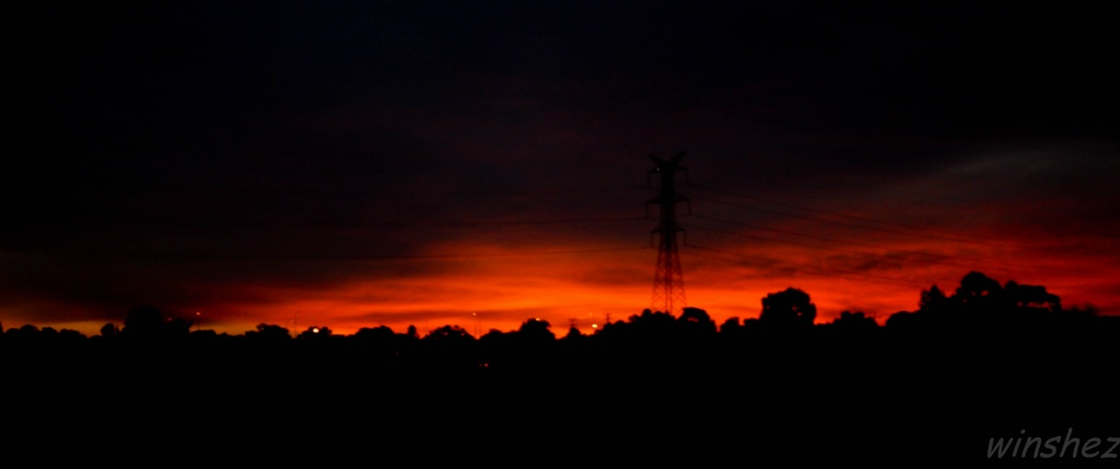 sunset by winshez